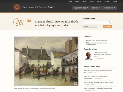 Floods present and past: Exploring historic precedents through the Arcadia project