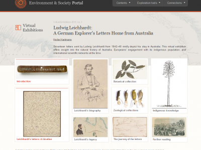 Intrepid German Explorers: Virtual Exhibitions and the Digital Revival of Scientists' Papers