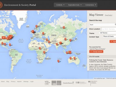 On Teaching Global Environmental History with Places & Events