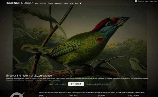 Digital Citizen Science: Creating Meaning for the Zooniverse