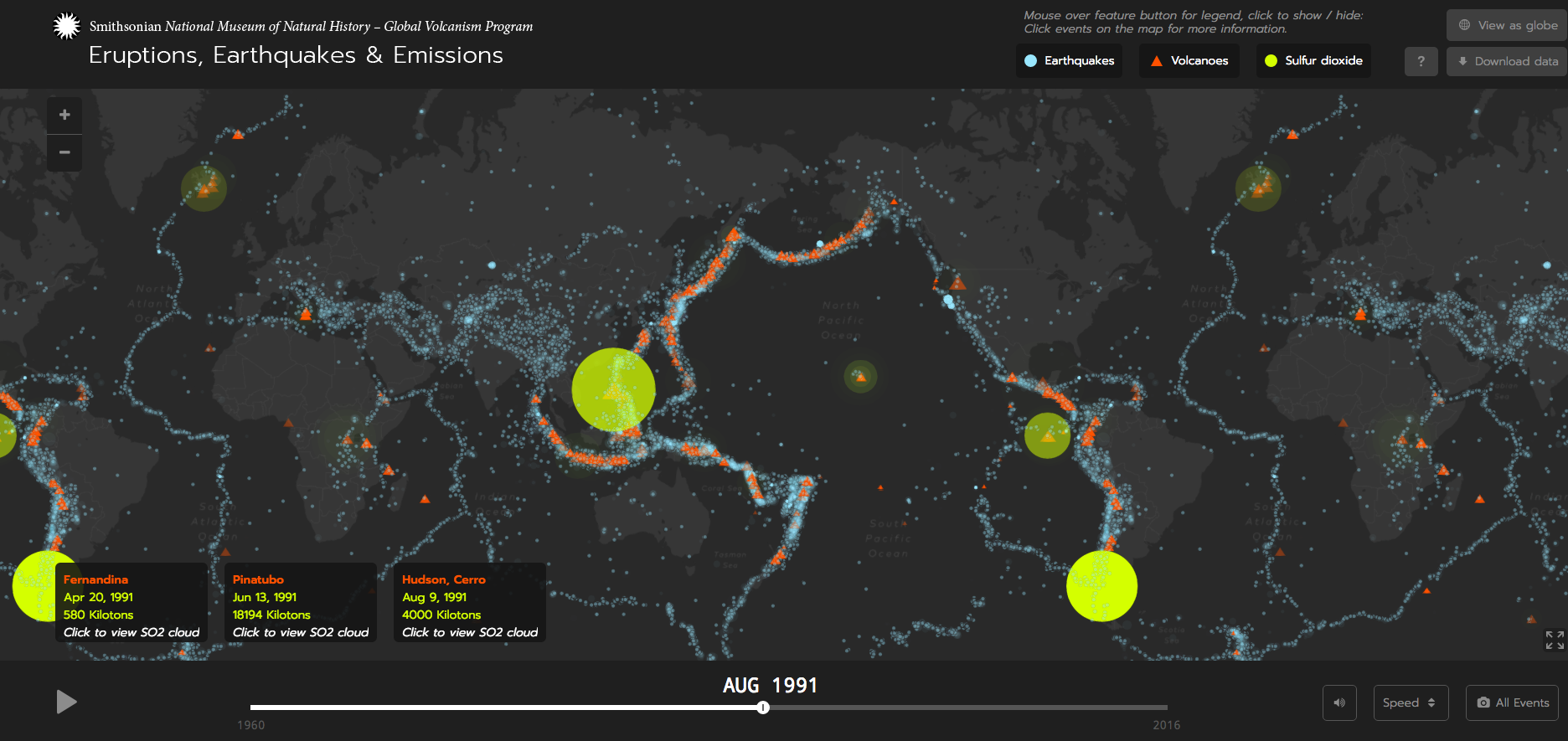 Eruptions earthquakes emissions visualizing the planets global volcanism program 2016 eruptions earthquakes emissions v 10 gumiabroncs Gallery